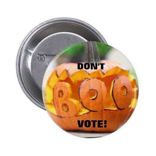 Don't Boo Vote!