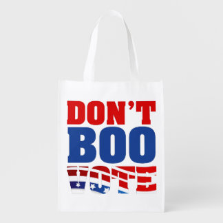 Don't Boo Vote Reusable Grocery Bag