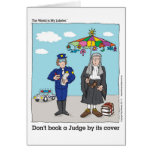 Don't Book a Judge by its Cover Greeting Cards