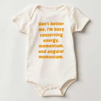 Dont bother me baby bodysuit