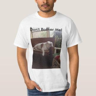 Don't Bother Me! Bulldog Shirt