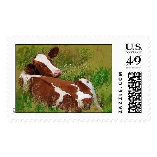 Don't Bother Me Cow Postage