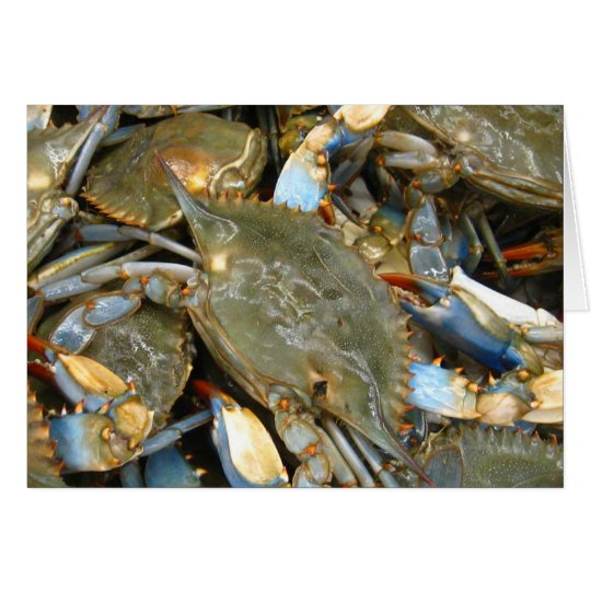 Don't Bother Me...I'm Crabby! Card