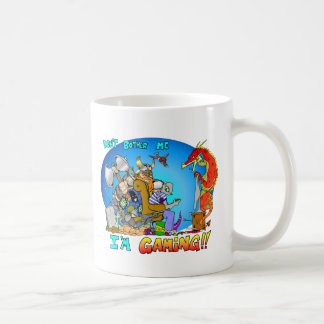 Don't Bother Me I'm Gaming Coffee Mug