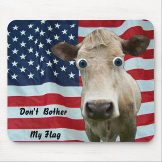 DON'T BOTHER MY FLAG-MOUSEPAD MOUSE PAD