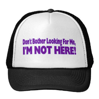 Don't Bother Trucker Hat
