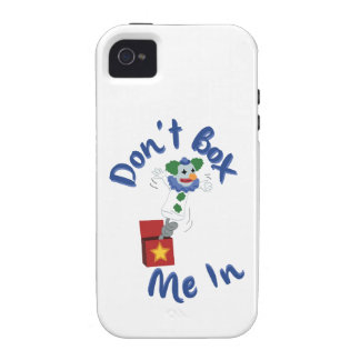 Don't Box Me In iPhone 4 Cases