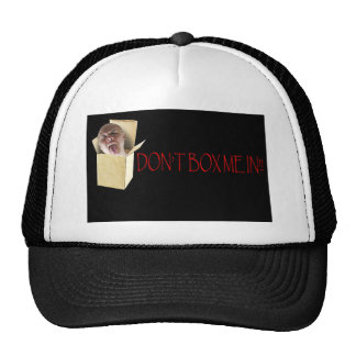 Don't box me in! hats