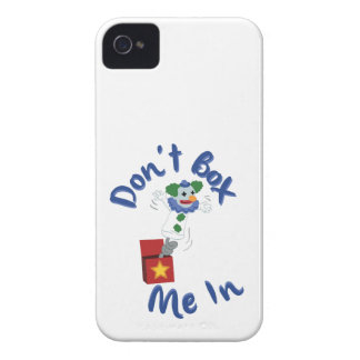 Don't Box Me In iPhone 4 Case-Mate Cases