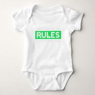 Don't Break the Rules Just Stretch Them Rule Break Baby Bodysuit
