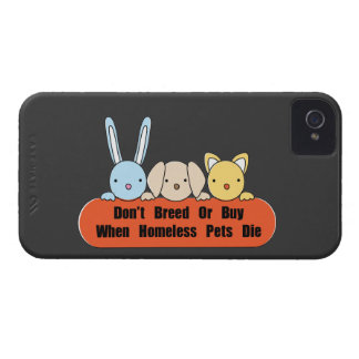 Don't Breed Or Buy iPhone 4 Case
