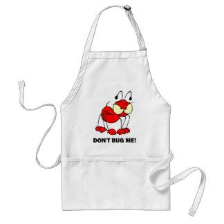 don't bug me adult apron