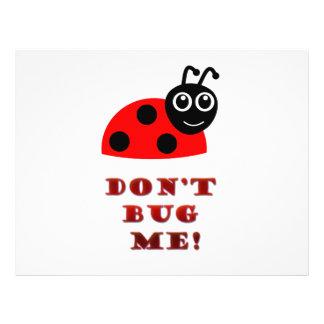 Don't bug me flyer