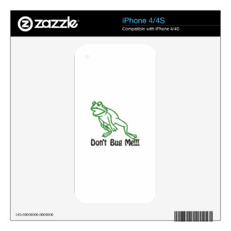 Dont Bug Me iPhone 4S Decals