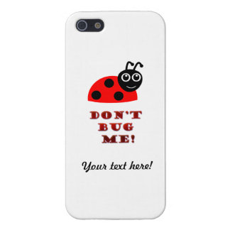 Don't bug me iPhone SE/5/5s cover
