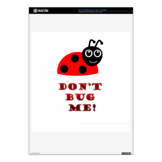 Don't bug me PS3 slim console skin