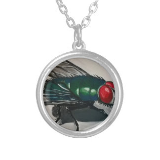 Don't Bug Me Silver Plated Necklace
