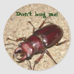 Don't bug me! stickers