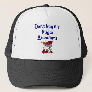 Don't bug the Flight Attendant Hat
