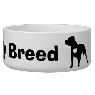 Don't Bully My Breed Dog Bowl