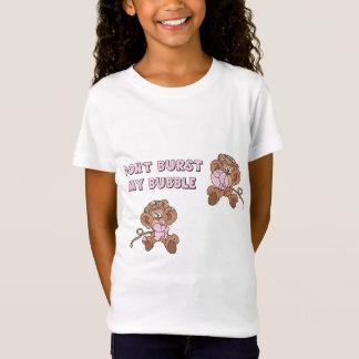 Don't Burst my Bubble Monkeys T-Shirt