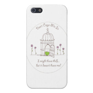 Don't Cage Me In Cover For iPhone SE/5/5s