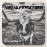 Don't Cali-Fornicate Texas Coaster Set