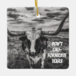 Don't Cali-Fornicate Texas Tree Ornament