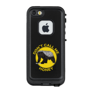 Don't Call Me Honey, Honey Badger Feminist Art LifeProof FRĒ iPhone SE/5/5s Case