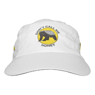 Don't Call Me Honey, Honey Badger Feminist Slogan Headsweats Hat