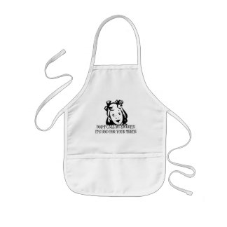 Dont Call Me Sweetie - It's Bad For Your Teeth Kids' Apron