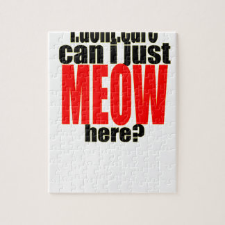 dont care meow cat catperson indifferent bother bo jigsaw puzzle