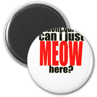 dont care meow cat catperson indifferent bother bo magnet