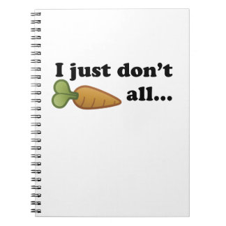 Don't Carrot All… Notebook