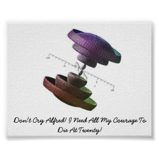 Don't Cry Alfred! I Need All My Courage.. Poster