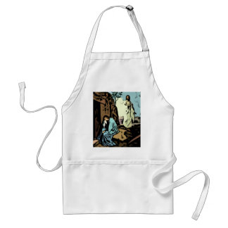 Don't Cry, The Tomb is Empty Adult Apron