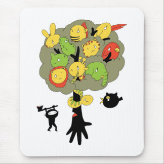 Don't Cut Down The Tree Mouse Pad