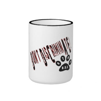 Don't Discriminate BSL Coffee Mug