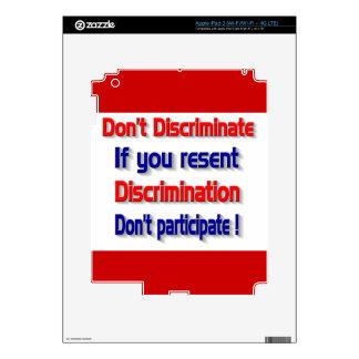 Don't discriminate iPad 3 skins