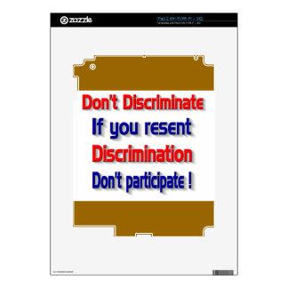 Don't discriminate decals for iPad 2