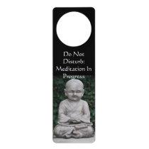 Don't Disturb Meditation Door Knob Hanger