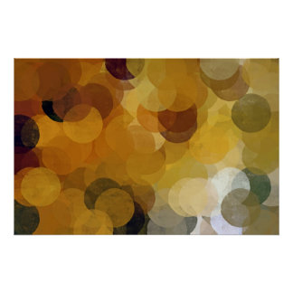 don't disturb my circles abstract poster
