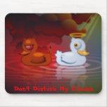 Don't Disturb My Circles Mouse Pad