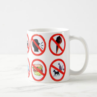 Don't do it! classic white coffee mug