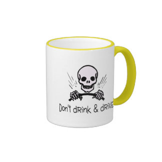 Dont Drink And Drive Ringer Mug