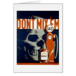 Don't Drink & Drive 1937 WPA Card