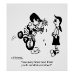 Don't Drink & Drive on a Trike Poster