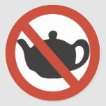 DON'T DRINK THE TEA STICKERS