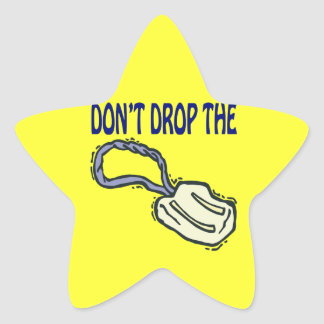 Dont Drop The Soap Star Sticker