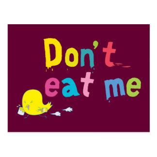 Don't Eat Me Postcard